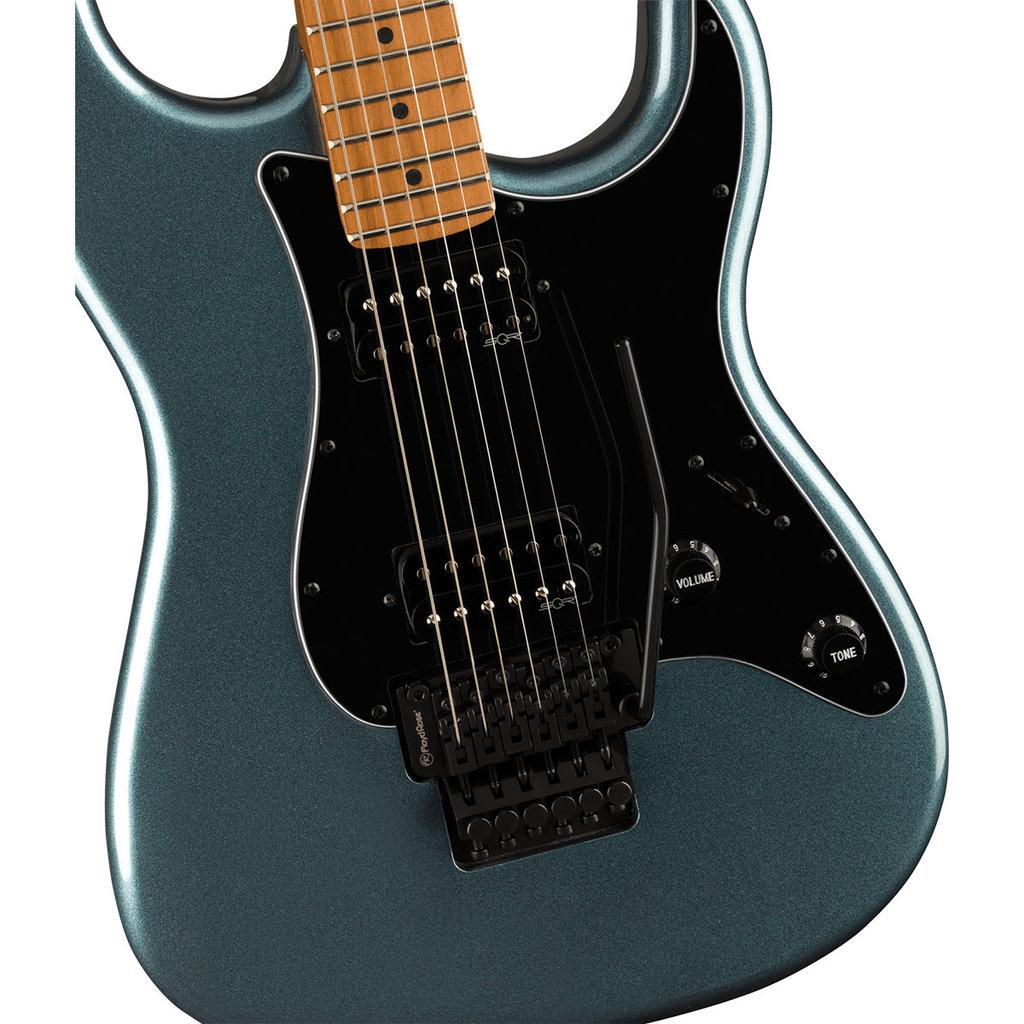 Fender Squier Contemporary Stratocaster HH FR Gunmetal Metallic