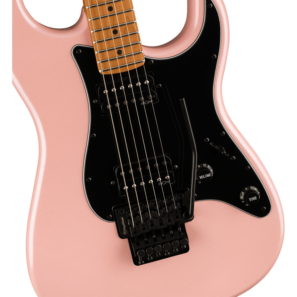 Fender Squier Contemporary Stratocaster HH FR - Shell Pink Pearl