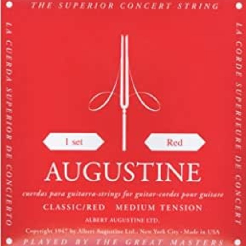Augustine Classical Strings Red Medium Tension ARD