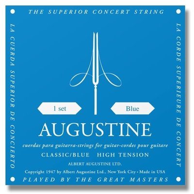 Augustine Classical Strings Blue High Tension ABL