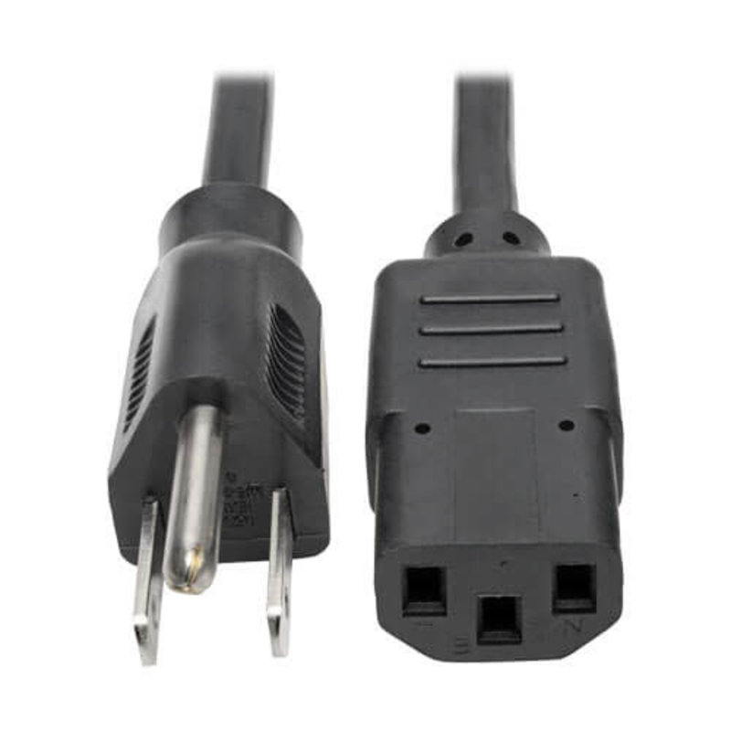 STAGG AC Power Cable  5'  1.5m  NPW1.5IECFPUS15