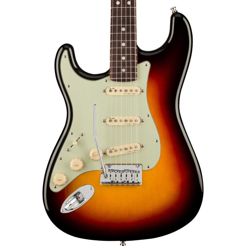 Fender Fender American Ultra Stratocaster Left-Hand RW - Ultra-burst