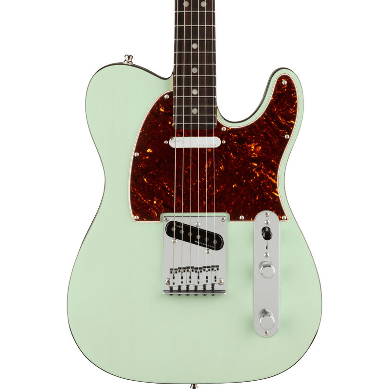 Fender Fender American Ultra Luxe Telecaster RW - Surf Green