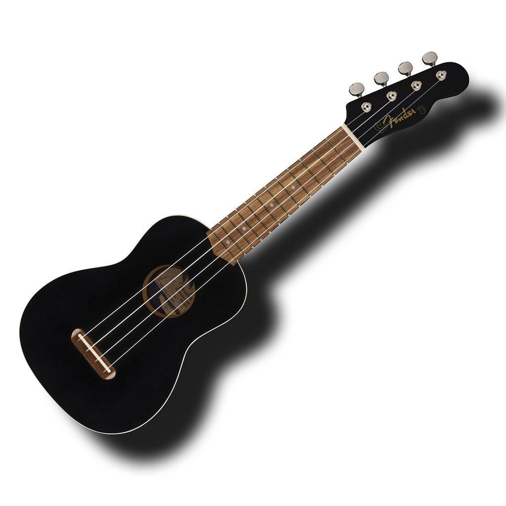 Fender Fender Venice Soprano Ukulele  Black