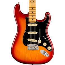 Fender Fender American Ultra Luxe Stratocaster - MF Red Burst