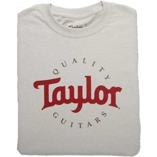 Taylor Guitars Taylor Two Color Logo Ice Grey T Shirt XXL