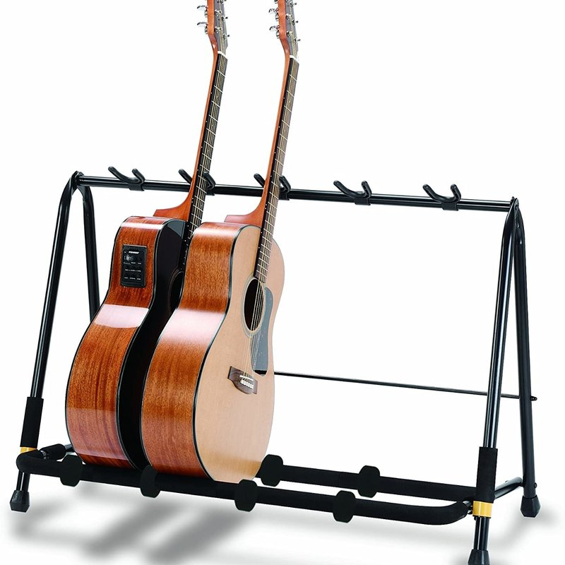 Hercules GS525B Folding Guitar Rack 5 piece