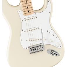 Fender Fender Squier 2021 Affinity Strat LRL WPC - Olympic White