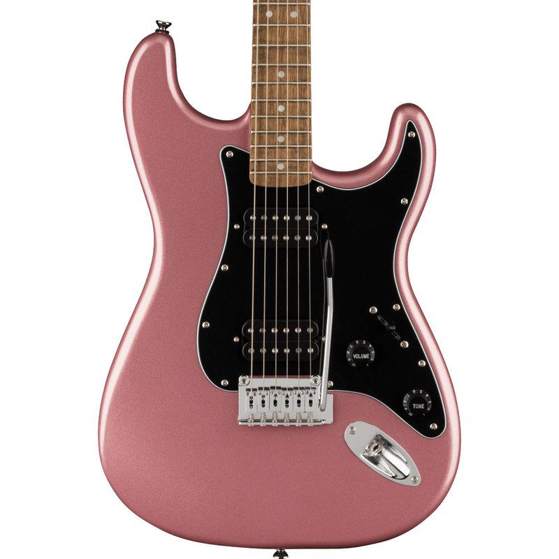 Fender Fender Squier 2021 Affinity Strat HH LRL BPG - Burgundy Mist