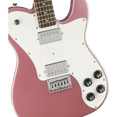 Fender Fender Squier 2021 Affinity Tele Deluxe LRL WPG BGM - Burgundy Mist