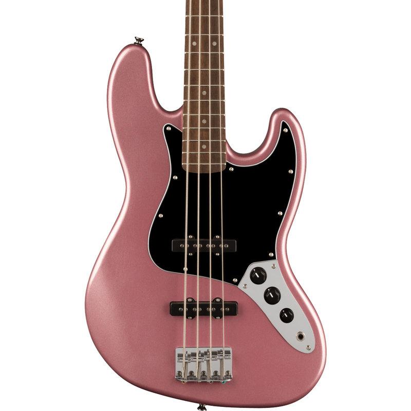 Fender Fender Squier 2021 Affinity J Bass LRL BPG - Burgundy Mist
