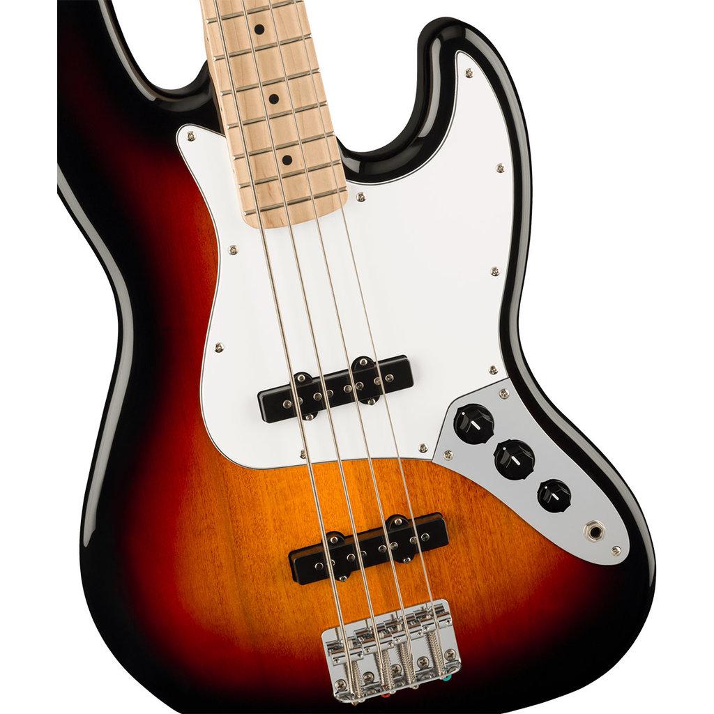 Fender Fender Squier 2021 Affinity J Bass WPG - 3-Tone Sunburst Maple Neck