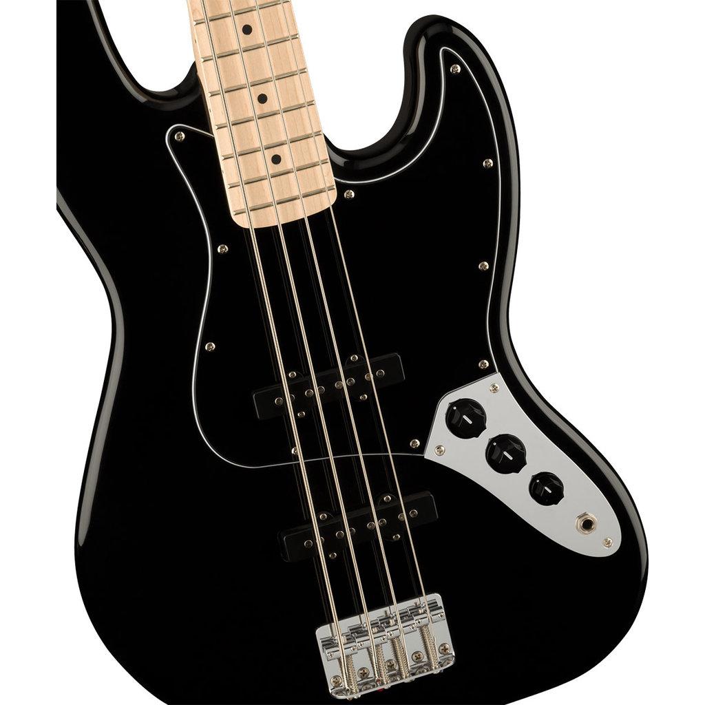 Fender Fender Squier 2021 Affinity J Bass BPG - Black Maple Neck