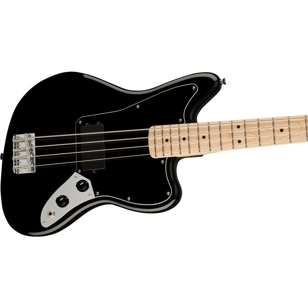 Fender Fender Squier 2021 Affinity Jaguar Bass H MN BPG - Black