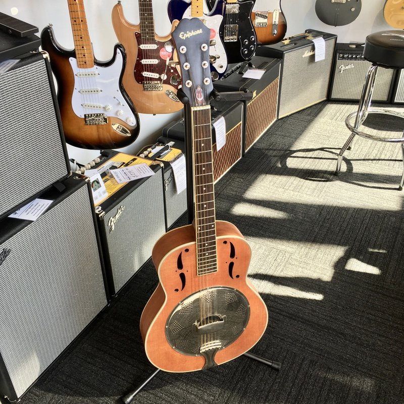 Epiphone Consignment/Used Epiphone Biscuit Resonator Guitar