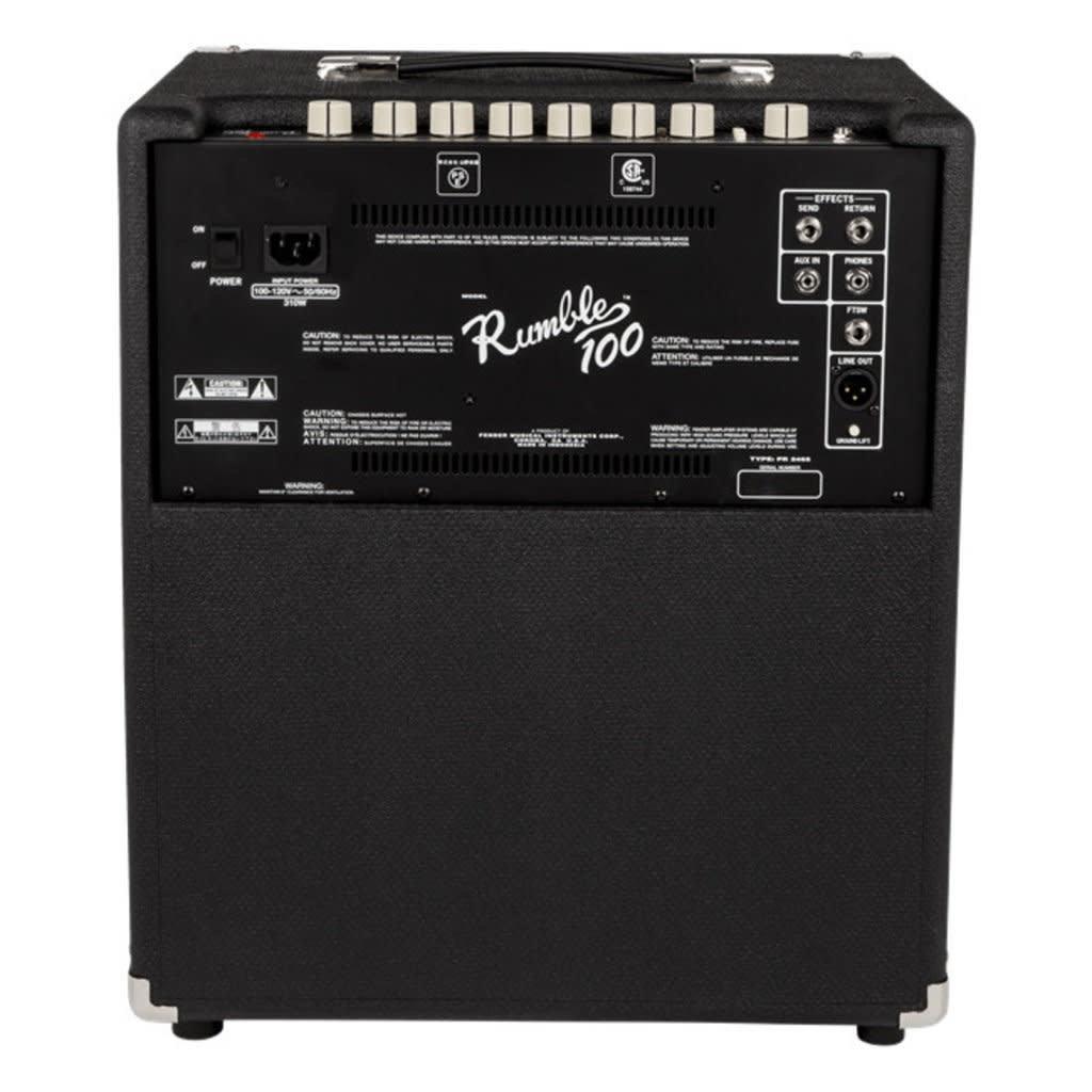 Fender Fender Rumble 100 Bass Amp V3 120v