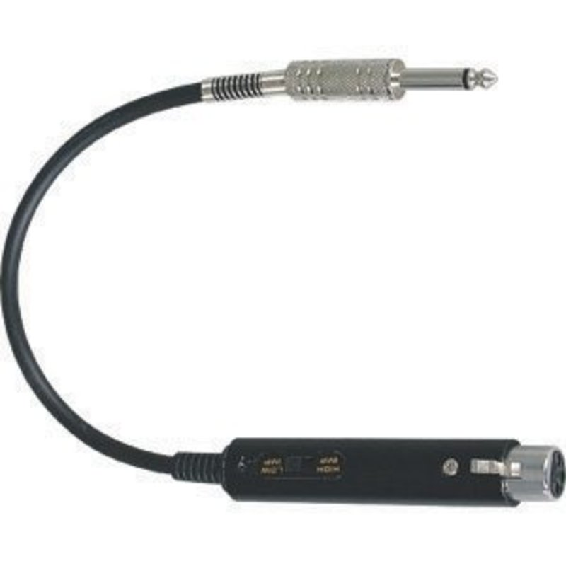 "Leem Professional MT-60 Microphone Matching Transformer Adapter XLR-1/4"""