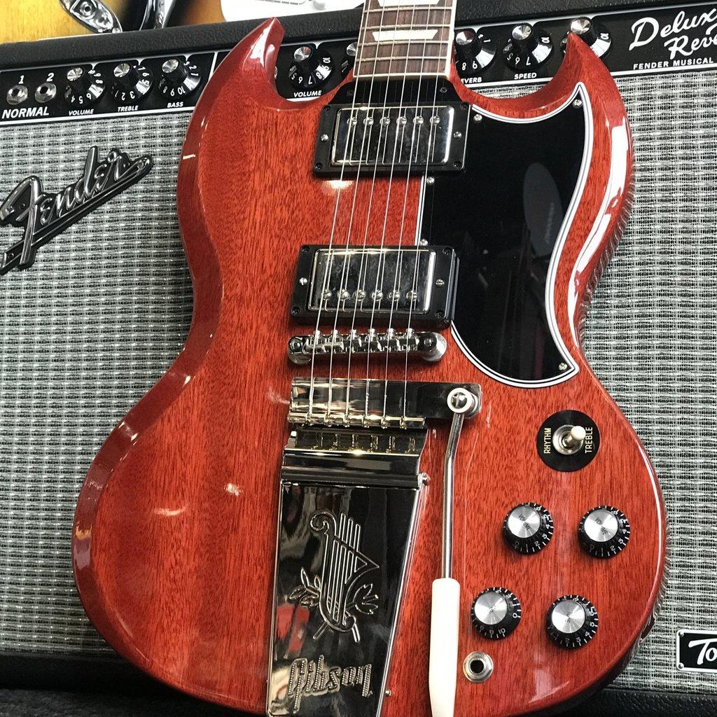 Gibson Gibson SG Standard '61 w/Maestro - Vintage Cherry