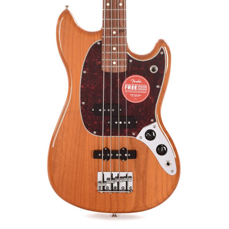 Fender Fender Player Mustang Bass PJ PF Aged Natural