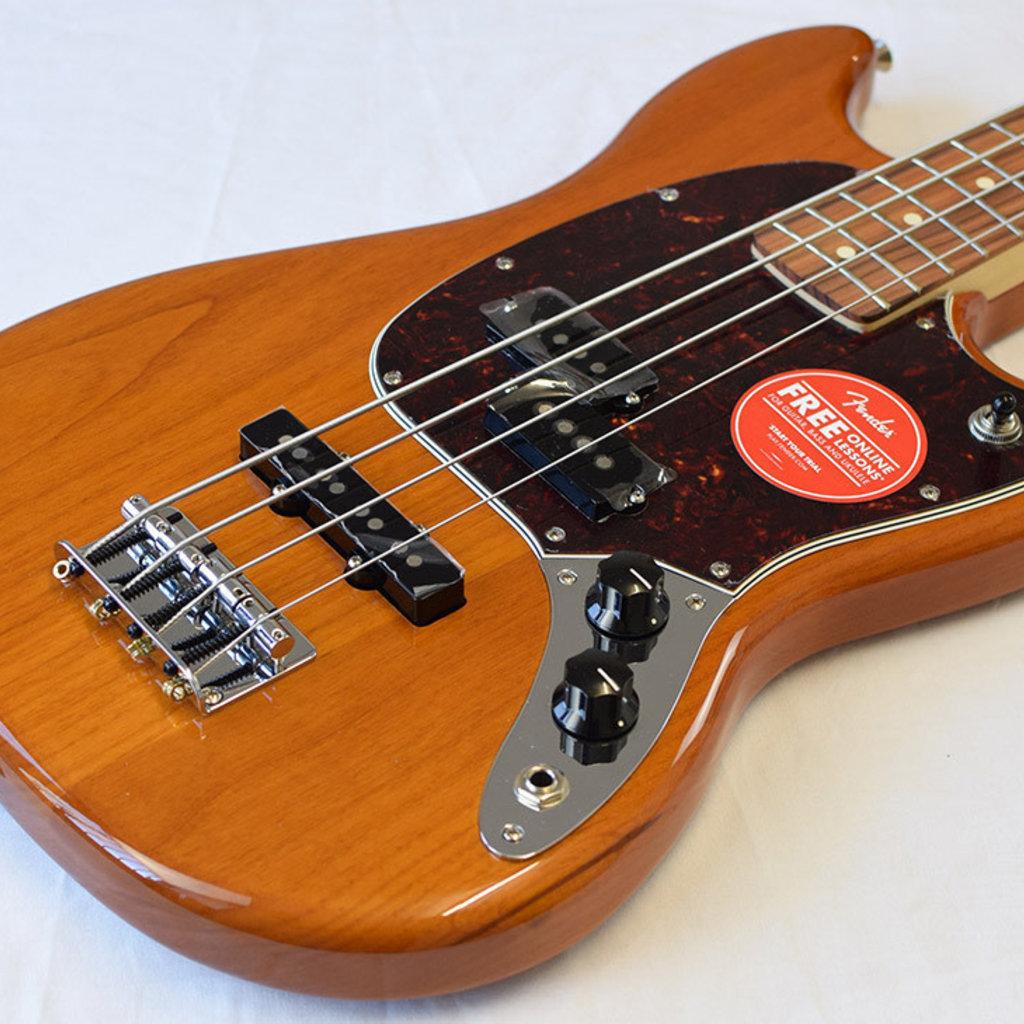 Fender Fender Player Mustang Bass PJ PF - Aged Natural