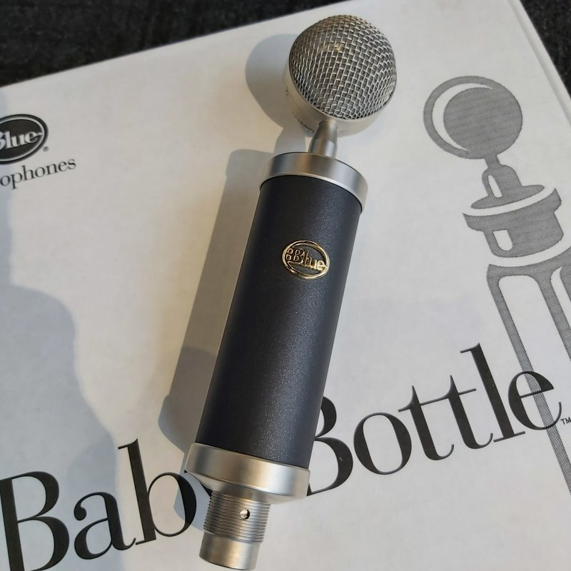 Consignment/Used Blue Baby Bottle Microphone