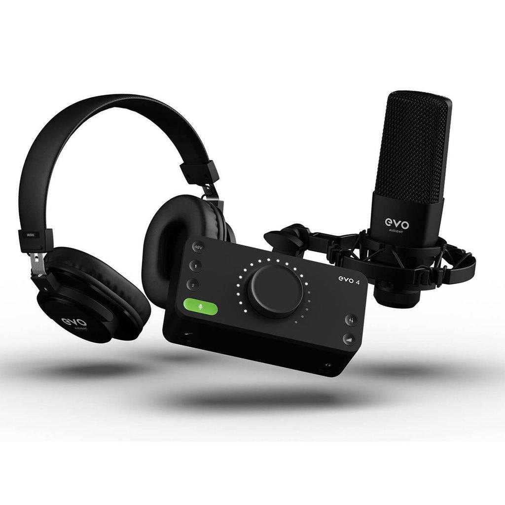 Audient Evo4-SRB Pack Start Recording Bundle