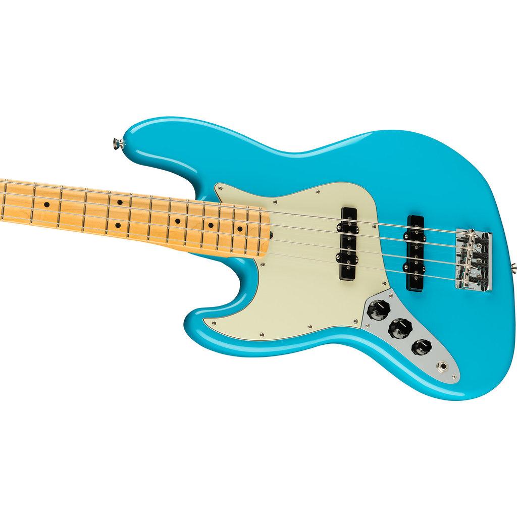 Fender Fender American Professional Jazz Bass MN Lefty - Miami Blue