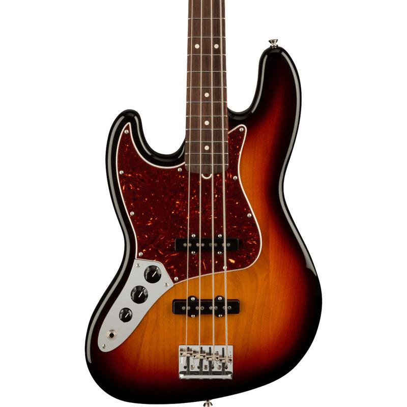 Fender Fender American Professional Jazz Bass Lefty - 3 Tone Sunburst