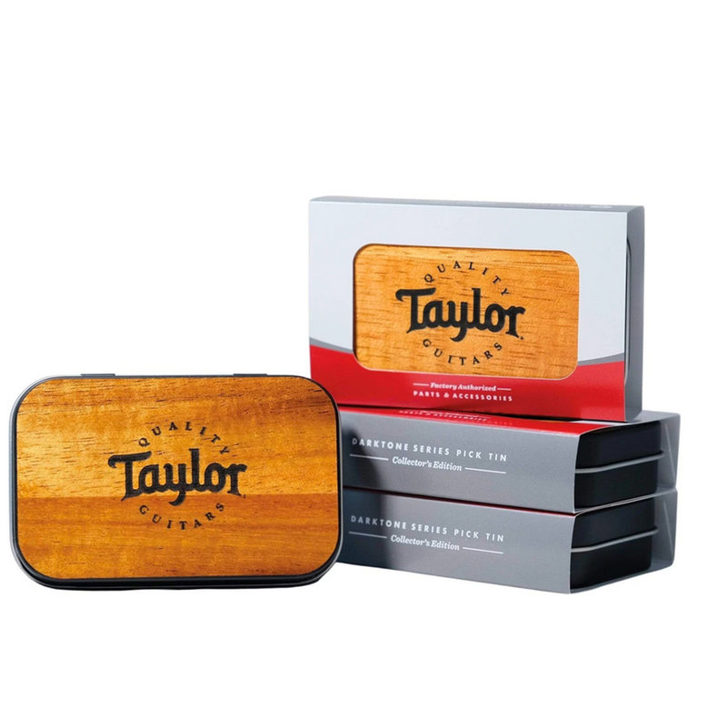 Taylor Guitars Taylor - Thalia Wood Top Pick Tin
