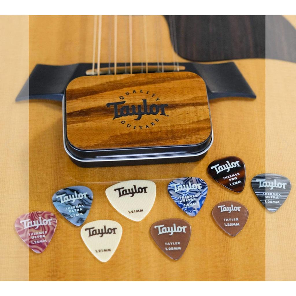 Taylor Guitars Taylor - Thalia Wood Top Pick Tin