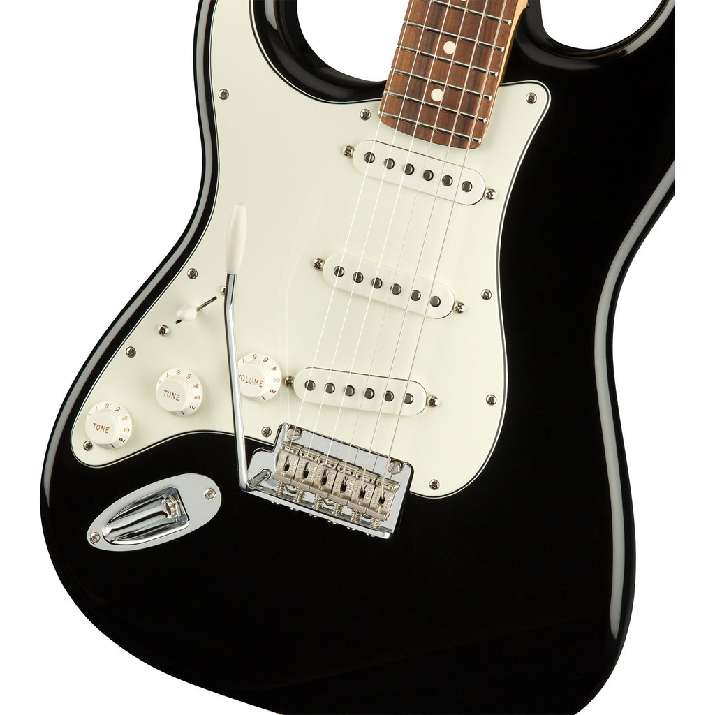 Fender Fender Player Stratocaster Guitar Lefty - Black