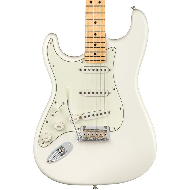 Fender Fender Player Stratocaster Guitar Lefty - Polar White