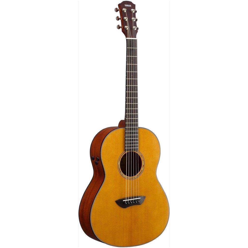 Yamaha Yamaha CSFTA VN TransAcoustic Parlour Guitar