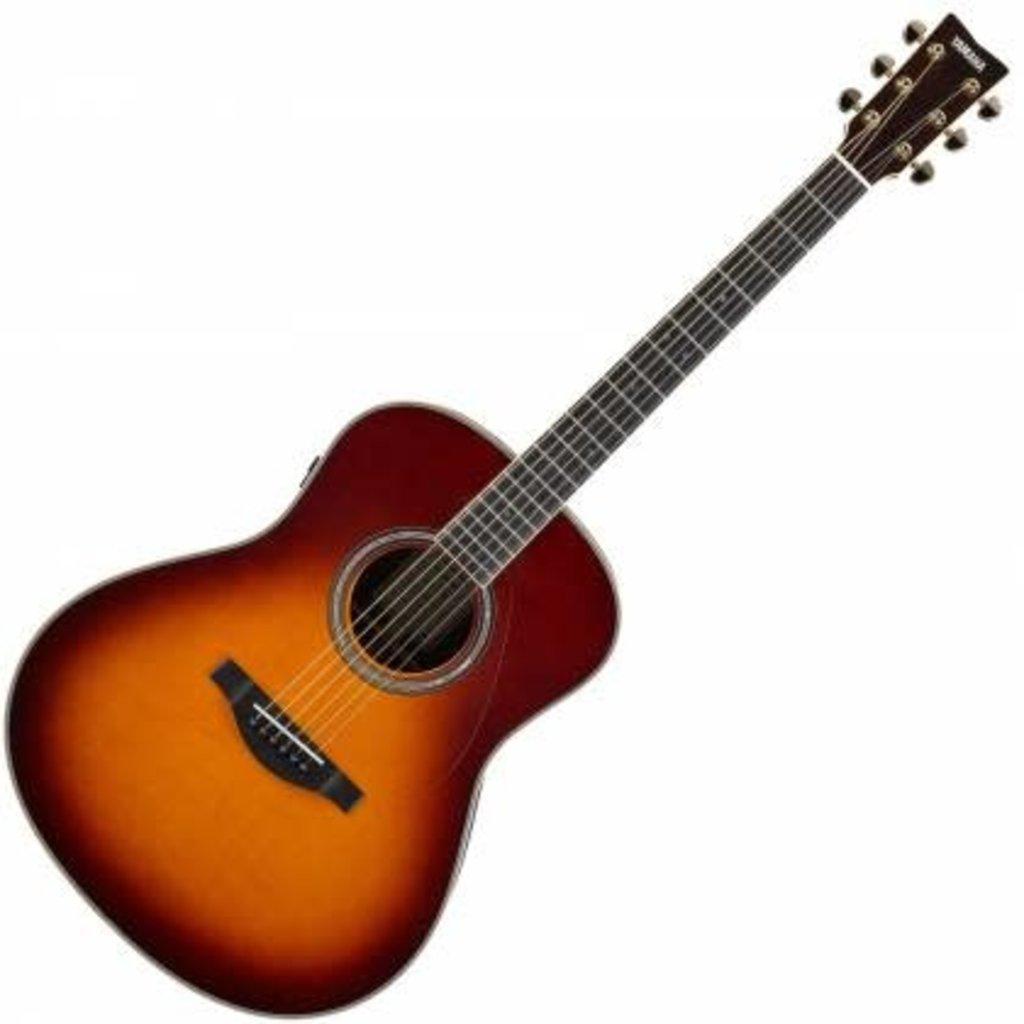 Yamaha Yamaha LLTA  BS TransAcoustic Guitar Brown Sunburst