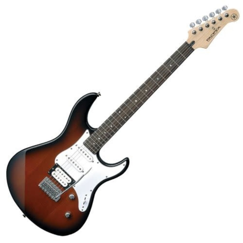Yamaha Yamaha PAC112V OVS Pacifica Electric Guitar Old Violin Sunburst