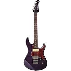 Yamaha Yamaha PAC611HFM TLP Pacifica Electric Guitar Translucent Purple