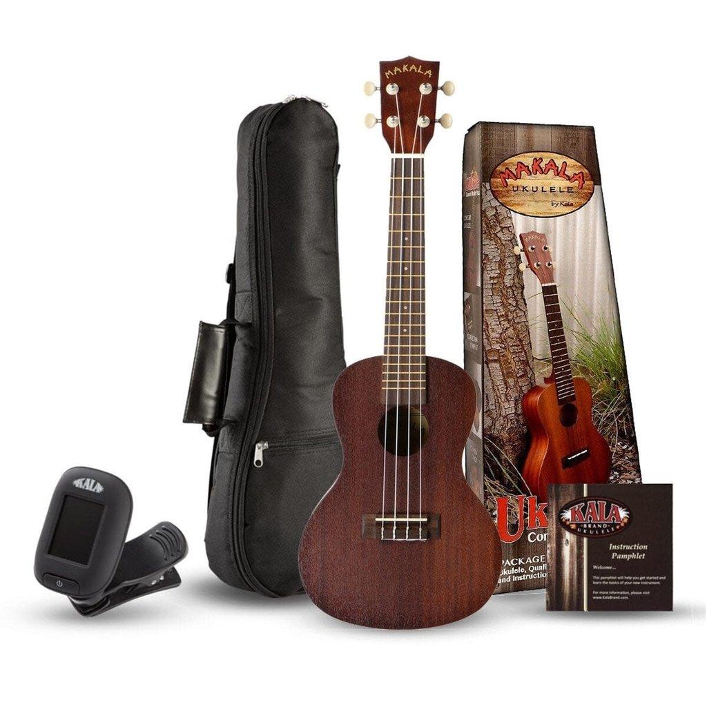 Kala Makala Concert Ukulele Pack MK-C-PACK
