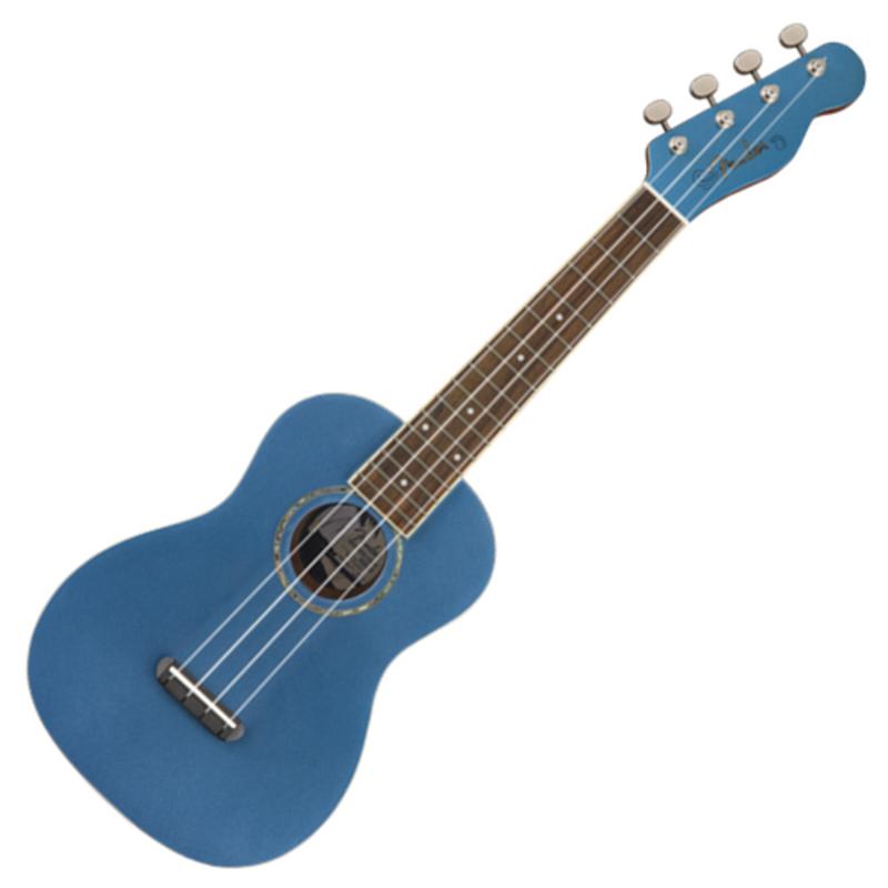 Fender Fender Zuma Classic Concert Ukulele - Lake Placid Blue
