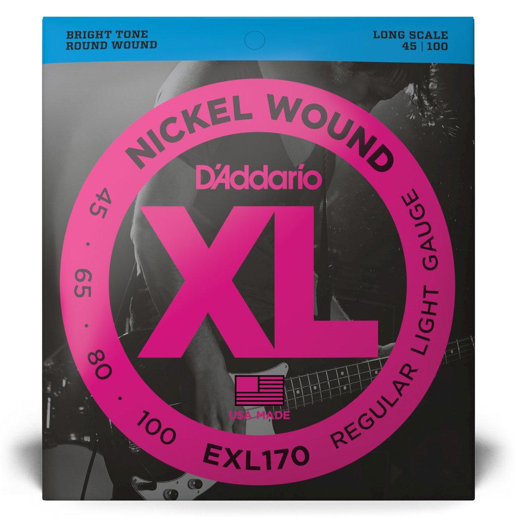 D'addario D'addario Exl170 Bass Strings