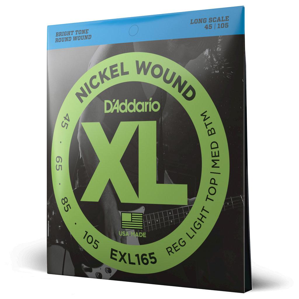 D'addario D'addario Exl165 Bass Strings