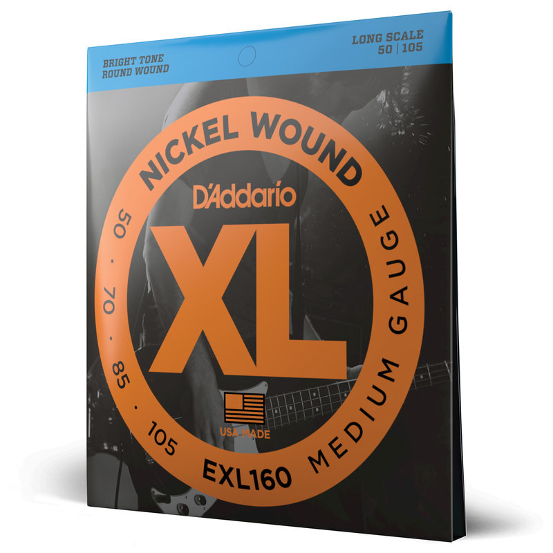 D'addario D'addario Exl160 Bass Strings
