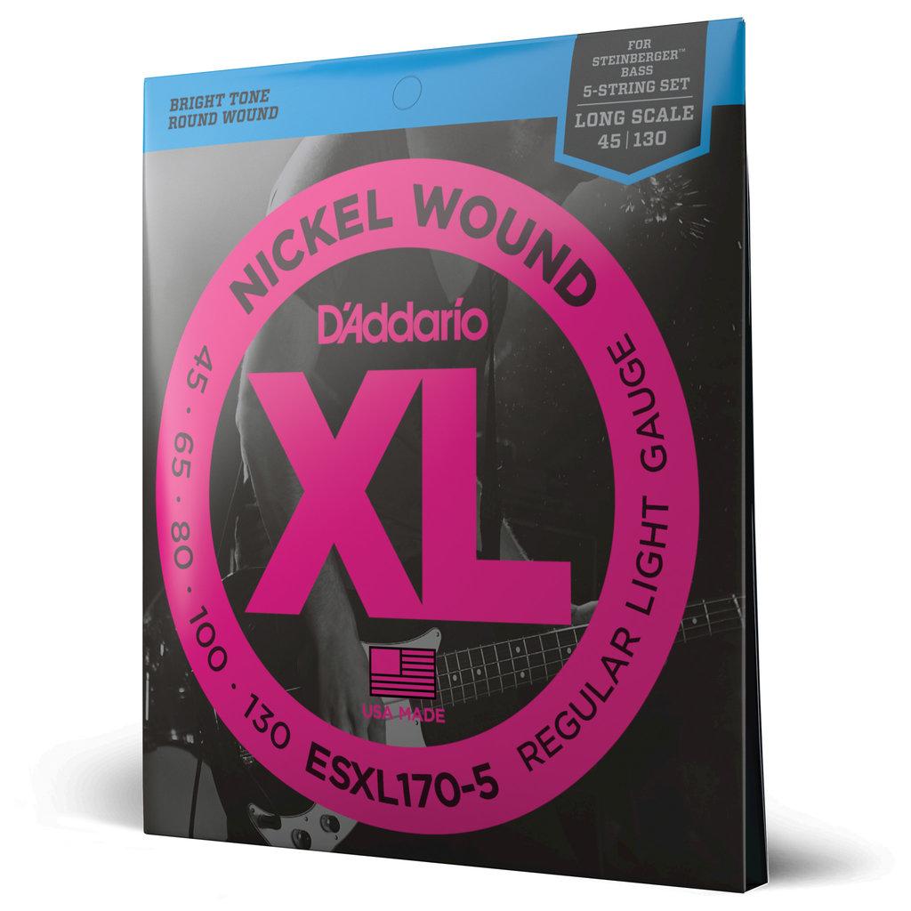 D'addario D'addario EXL170-5 Bass Strings