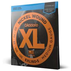 D'addario D'addario EXl160-5 Bass Strings
