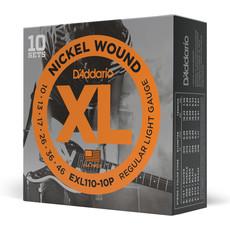 D'addario D'addario EXL110 10P - 10 Pack