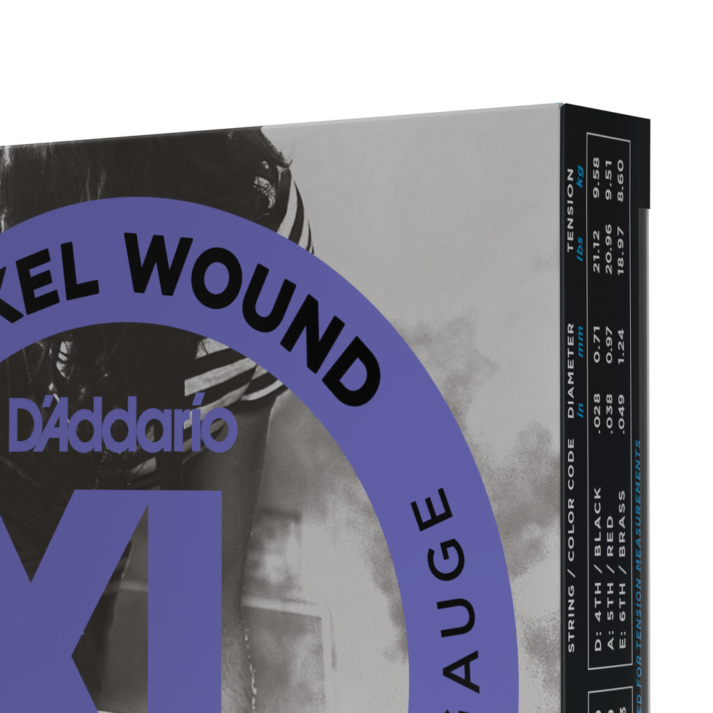 D'addario D'addario Exl115 3D - 3 Pack