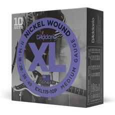 D'addario D'addario EXL115 10P - 10 Pack