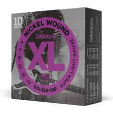 D'addario D'addario EXL120 10P - 10 Pack