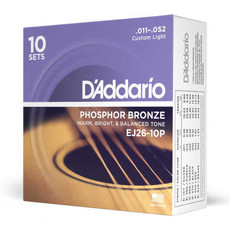 D'addario D'Addario Ej26 10P - 10 Pack