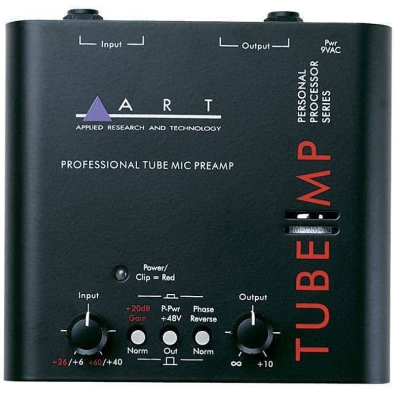 ART Pro Audio - Tube MP Mic Preamp