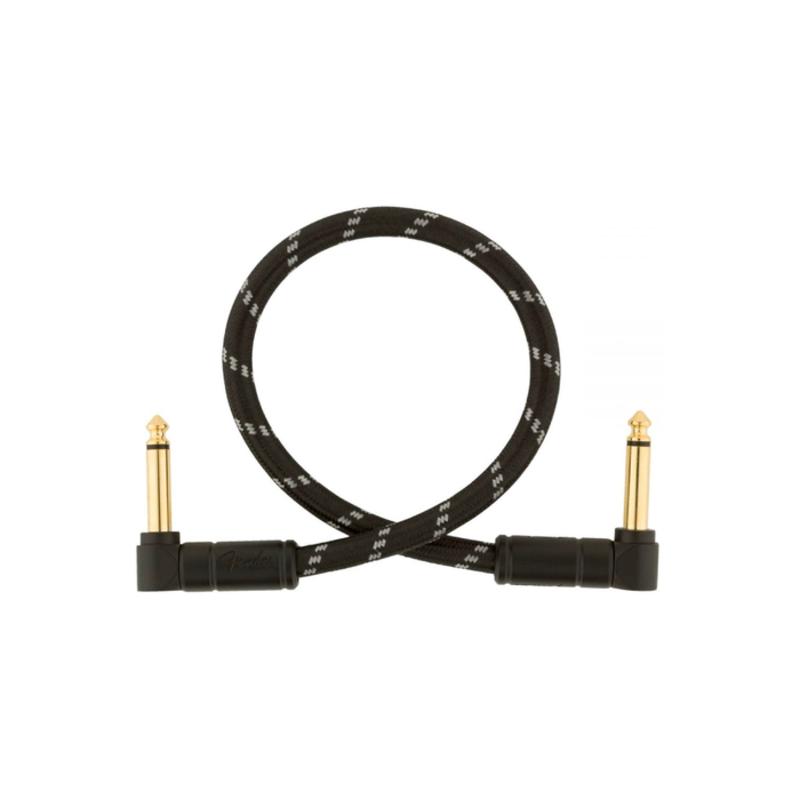 "Fender Fender Deluxe 6"" Pedal Cable - Black Tweed"